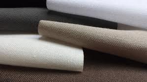 Semi transparante linnen vouwgordijnen en gordijnen