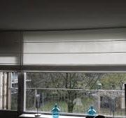 vouwgordijn op deur