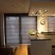 vouwgordijnen keuken woonkamer