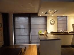 Vouwgordijnen keuken en woonkamer blinddesign