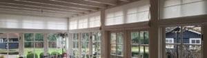 Grote ramen raamdecoratie